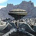 Future Pod City by Michael Wimer