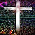Futuristic Cross Pattern by XERXEESE Color Schemes