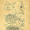 Futuristic Toy Gun Weapon Patent by Edward Fielding