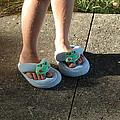 Fuzzy Slippers by Scott Angus