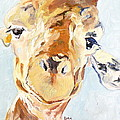 G A Giraffe by Saundra Lane Galloway