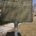 Ga-005-10 Birthplace Of Charles Holmes Herty 1867-1938 by Jason O Watson