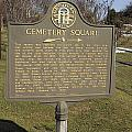 Ga-005-28 Cemetery Square by Jason O Watson
