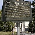 Ga-029-101 Old Athens Cemetery by Jason O Watson