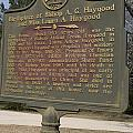 Ga-108-2 Birthplace Of Bishop A. G. Haygood And Miss Laura A. Haygood by Jason O Watson