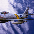 Gabby's F-86e by Tommy Anderson