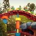 Gadget Go Coaster Disneyland Toontown by Thomas Woolworth