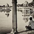 Gadisagar Lake by Sorin Rechitan
