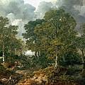 Gainsboroughs Forest Cornard Wood, C.1748 Oil On Canvas by Thomas Gainsborough