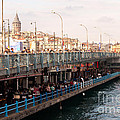 Galata Skyline And Bridge 02 by Rick Piper Photography