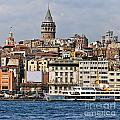 Galata Tower 03 by Antony McAulay