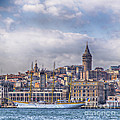 Galata Tower Istanbul by Sophie McAulay