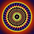 Galaxy Spotlight Kaleidoscope by Derek Gedney