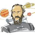 Galileo Galilei by Harald Ritsch