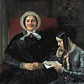 Gallait, Louis 1810-1887. The Mother by Everett