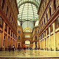 Galleria Umberto I  Naples Italy by David Coleman