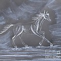 Galloping Horse by Sally Rice