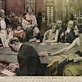 Gamblers At The Tables -  A Winner by Mary Evans Picture Library