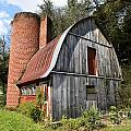 Gambrel-roofed Barn by Paul Mashburn
