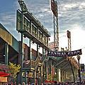 Game Day - Fenway Park by Joann Vitali