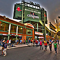 Game Night Fenway Park by Toby McGuire