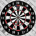 Game Of Darts Anyone? by Kaye Menner