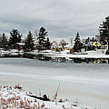 Gananoque River In Winter 4 by Jim Vance