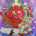 Ganesha  Laksami by Kaewkao Titayakorn