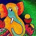 Ganesha by Saneesha Lingala