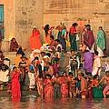 Ganges Pilgrims by Amanda Stadther