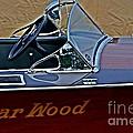 Gar Wood Boat by Randy J Heath