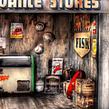 Garage - Advance Stores  by Mike Savad