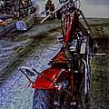Garage Kept Chopper by Lesa Fine