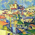 Gardanne By Cezanne by John Peter