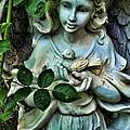Garden Angel by Jes Fritze