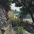 Garden At Pendarvis Mineral Point Wisconsin  1 by Rita Miller