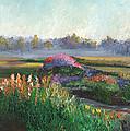 Garden At Sunrise by William Killen