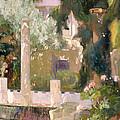 Garden At The Sorolla House by Mountain Dreams