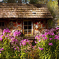 Garden - Belvidere Nj - My Little Cottage by Mike Savad