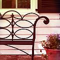 Garden Bench by Jill Battaglia