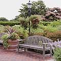 Garden Benches 6 by Jeelan Clark