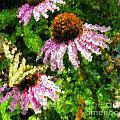 Garden Butterfly by Ellen  Leigh