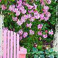 Garden Chair by Bonnie Bruno