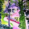Garden City Gazebo by Sandy Ryan