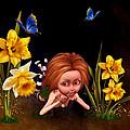 Garden Elf by John Junek