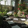 Garden Entrance by Elinor Helen Rakowski