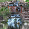 Garden Falls by Tony  Colvin