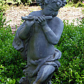 Garden Flutist by Richard Bryce and Family