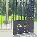 Garden Gate by Andrea Lynch
