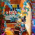 Garden Gazebo by Jenny Lee